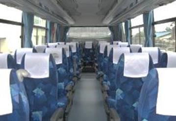 中型バス302.304車内
